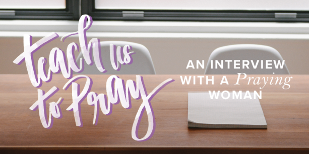 An Interview with a Praying Woman