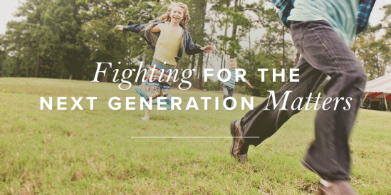 Fighting for the Next Generation Matters
