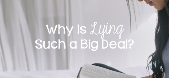 Why Is Lying Such a Big Deal?