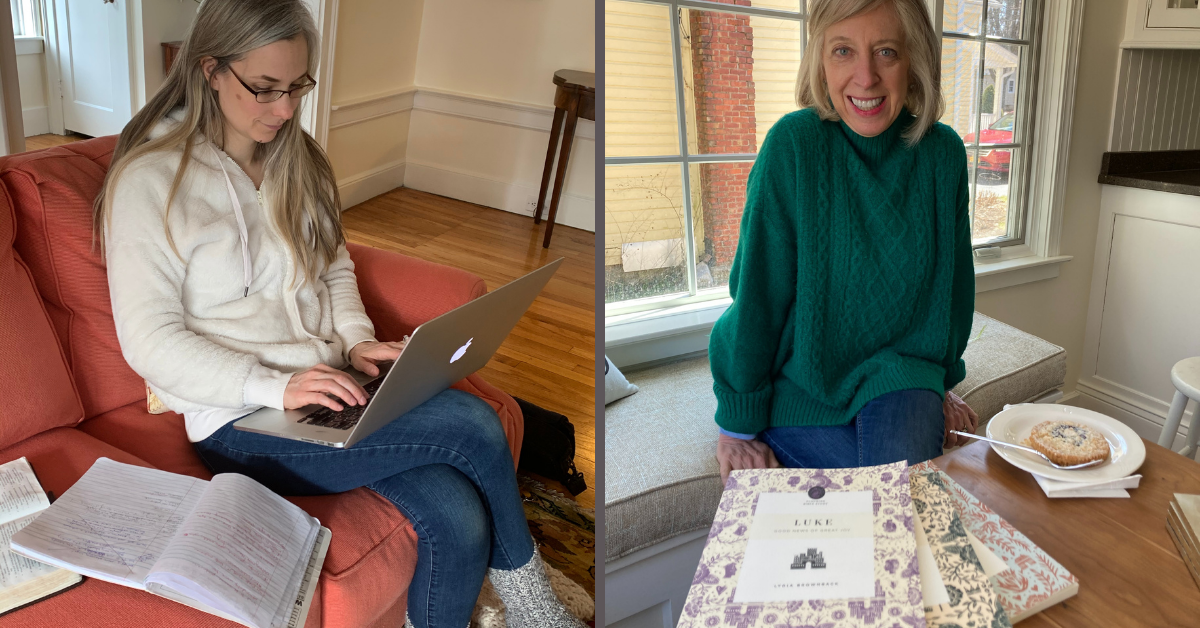 two writing friends; one published, one not